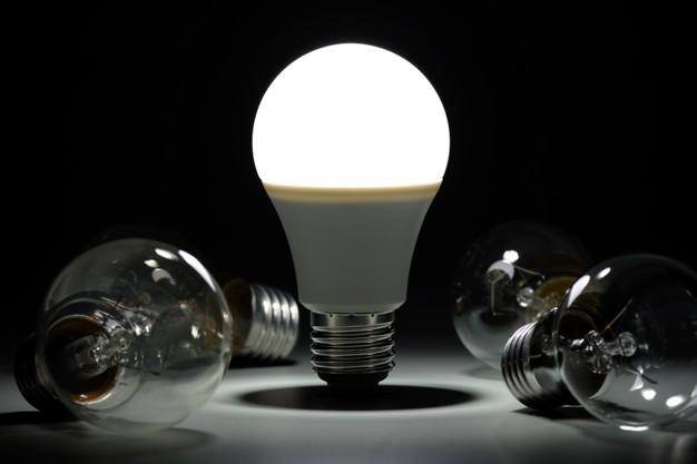 glowing-led-lamp-incandescent-bulbs-dark_168730-1009