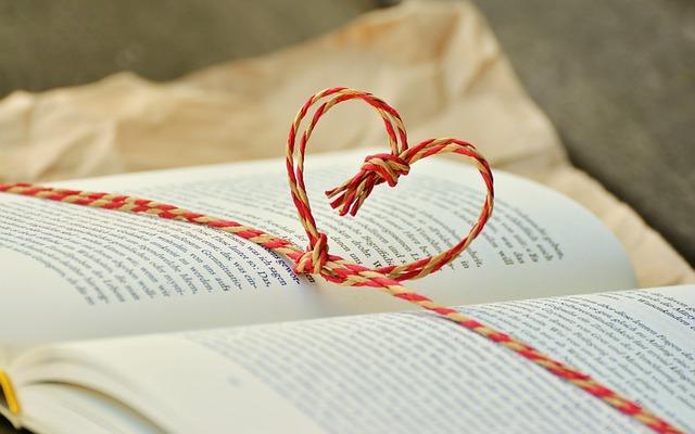 srdce na knize