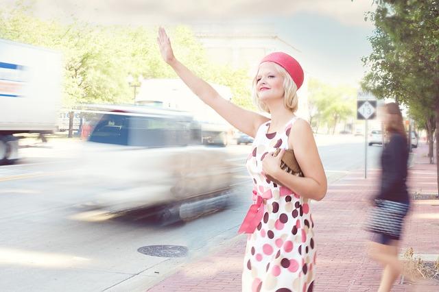 stopující žena