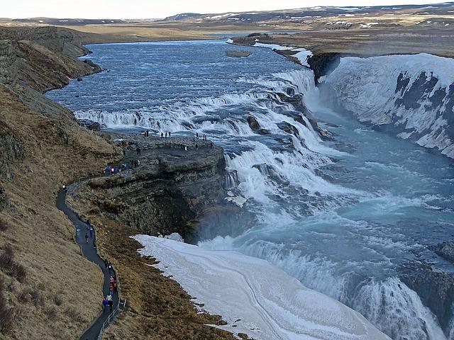 Gullfosský vodopád