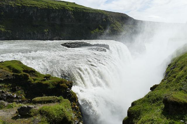 krása vodopádu