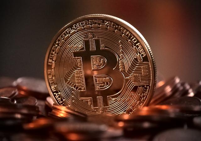 tvořící se bitcoin