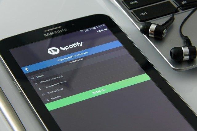 Spotify aplikácia