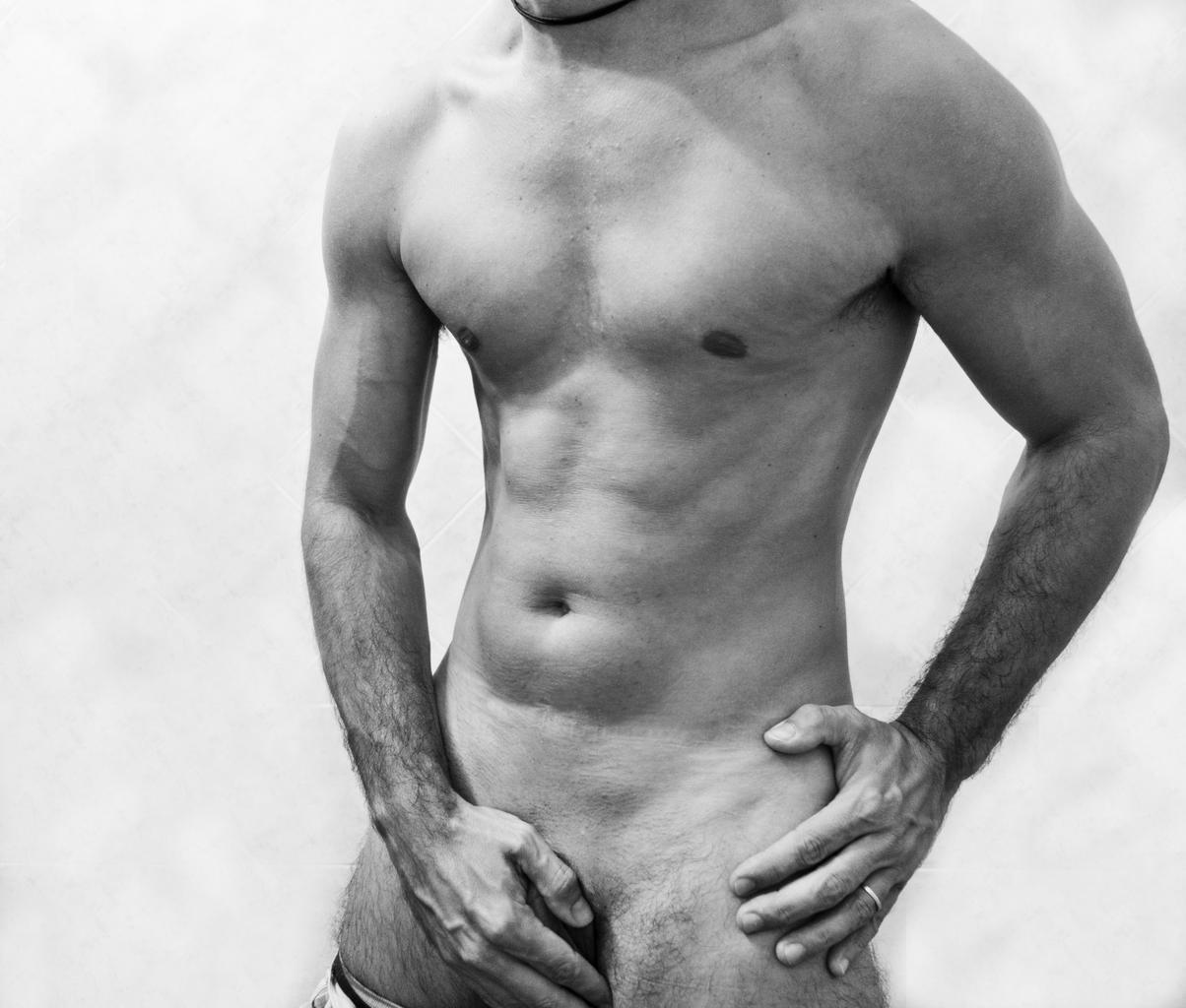 mužské telo